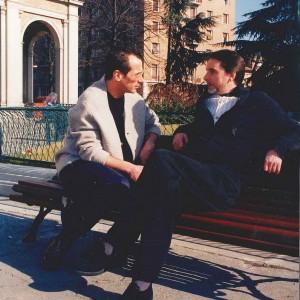 a Reggio Emilia con il Maestro