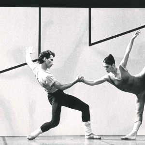 Steptext di William Forsythe, con Elisabetta Terabust- 1984