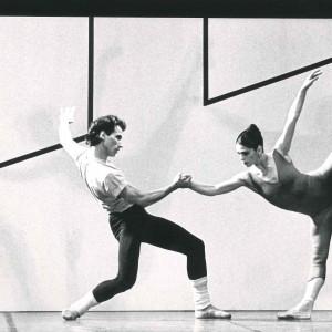 Steptext di William Forsythe, con Elisabetta Terabust- 1984