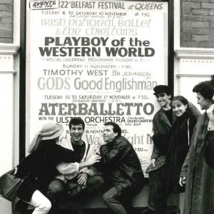 in tournée a Belfast con Aterballetto, 1985