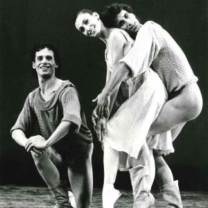 con Patrizia Comini e Giuseppe Della Monica- Aterballetto